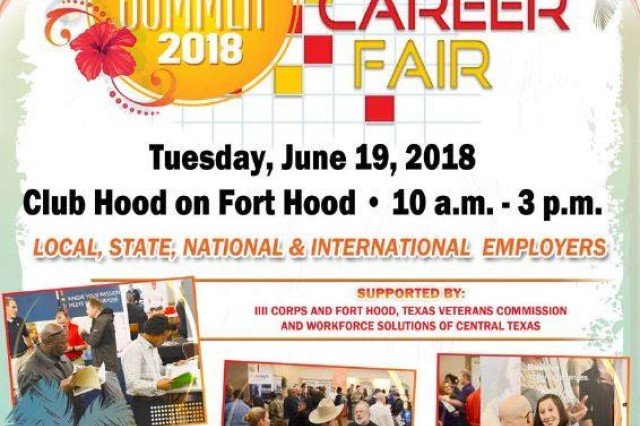 The Fort Hood Soldier for Life -- Transition Assistance Program brings employers together all in one spot at the semi-annual Summer Mega Career Fair, June 19 from 10 a.m. to 3 p.m. here at�Club Hood.