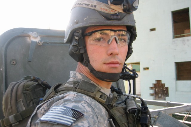 Sgt. Robert Daniel Sanchez pictured during one of his deployments. Sanchez was assigned to the U.S. Army's B Company, 1st Battalion, 75th Ranger Regiment based out of Hunter Army Airfield, Ga. He served with three deployments to Iraq and two in Afghanistan. (Photo courtesy of Command Sgt. Maj. Will Holland)