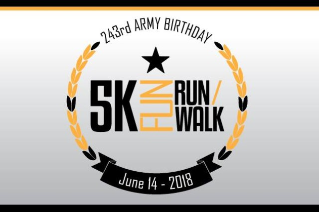 The Army Birthday 5K Fun Run commemorates America's Army - Soldiers, Families and Civilians - who are achieving a level of excellence that is truly Army Strong.
