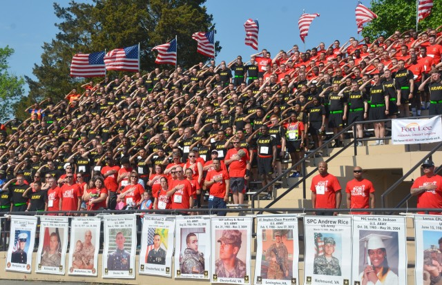 Fort Lee Run for the Fallen 2018