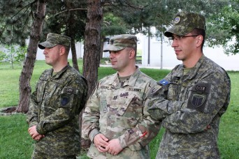 Albanian-American from Kosovo serves with KFOR at Camp Bondsteel