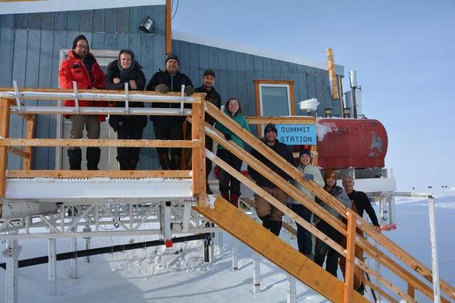 ULCANS Team in Greenland
