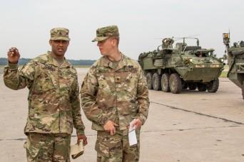 Army Reserve transportation coordinators keep troops moving during Saber Strike 18