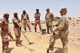Georgia National Guard engage in knowledge exchange with the Royal Army of Oman