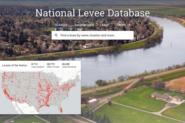 The updated National Levee Database, maintained and published by the U.S. Army Corps of Engineers (USACE), is now available for public access.  The NLD is a congressionally-authorized database that documents levees in the United States.  It recently underwent a refresh making more tools available to data managers to keep information updated and provides an improved dashboard that makes finding and understanding levee information easier than ever. NLD information includes the location, general condition, and risks associated with the levees.