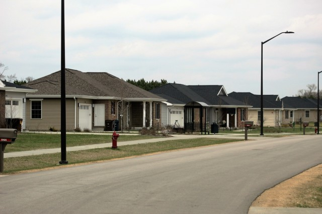 "A scene at South Post Housing is shown May 2, 2018, at Fort McCoy, Wis. In early May 2018, thanks to surveys sent to South Post Housing area residents in January and February that resulted in high customer-satisfaction ratings, the Fort McCoy Family Housing Office staff learned the installation will receive a Platinum Customer-Service Excellence Neighborhood Award during Installation Management Command's ""Housing the Force"" Conference in August 2018. (U.S. Army Photo by Scott T. Sturkol, Public Affairs Office, Fort McCoy, Wis.)"