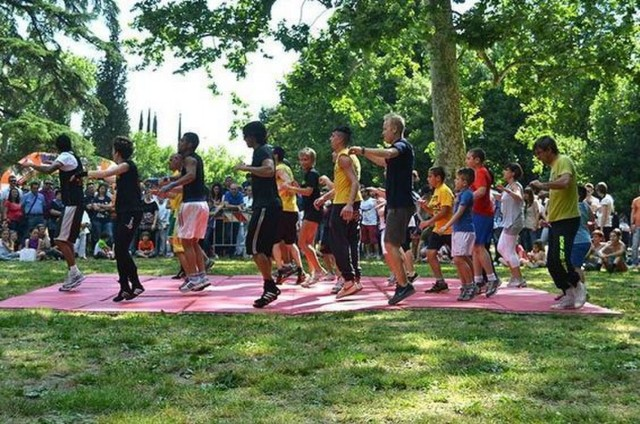Free outdoor fitness classes
