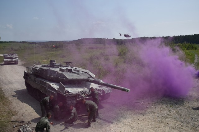 Poland's Leopard 2A5