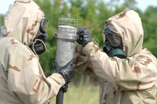 Chemical Soldiers from a past CBRN competition.