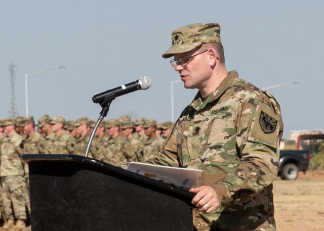 Incoming Commander Remarks