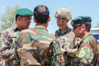 Backbone of the Army: National Guard NCOs share experiences, knowledge with Afghan counterparts