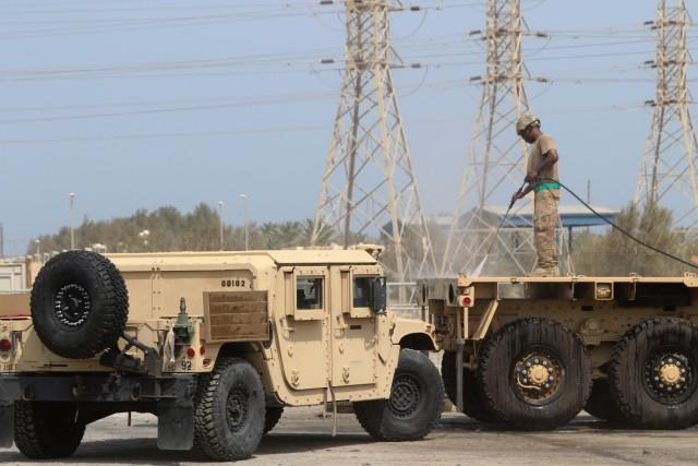 Wash Rack Operations Kuwait