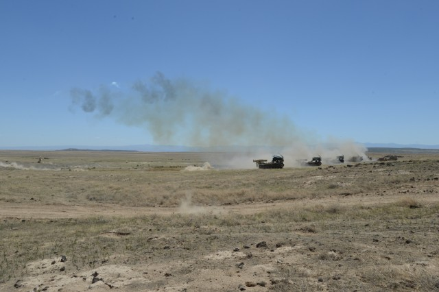 Soldiers from the Idaho Army National Guard's 116th Engineer Battalion and the U.S. Army Reserve's 321st Engineer Battalion conducted a live-fire M58 Mine Clearing Line Charge (MICLIC) range June 13, 2018, at the Orchard Combat Training Center, Boise, Idaho. Both engineer units are supporting of the 116th Calvary Brigade Combat Team's eXportable Combat Training Capability rotation.