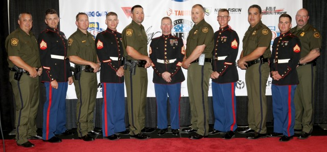 Border Patrol & U.S. Marine Corps compete at Bianchi Cup