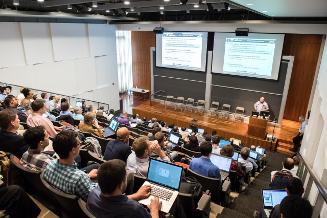 Principal investigators and researchers from the Army's Robotics Collaborative Technology Alliance meet at the University of Pennsylvania in Philadelphia June 5-7, 2018, to coordinate efforts.
