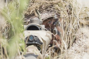 Idaho Army National Guard snipers get in and get out, unseen