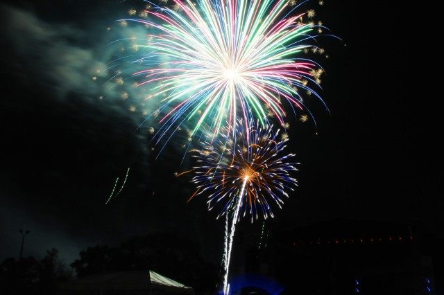 Fireworks light up the night sky during a previous Freedom Fest. This year's event takes place June 29 from 4-10 p.m. and fireworks will cap the festivities.