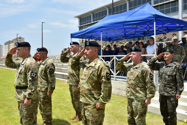 2ID holds Deputy Commanding Generals' Patch Ceremony at new Korea base