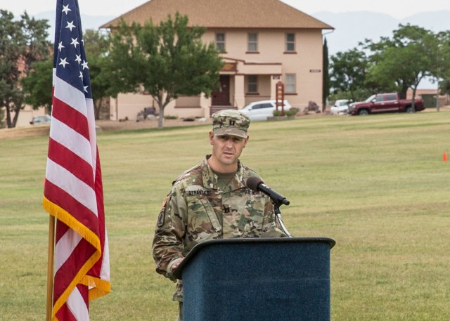 Incoming Commander's Remarks