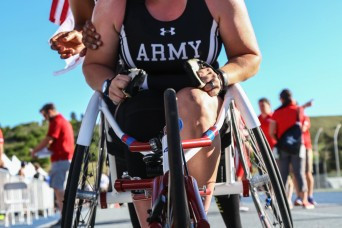 Soldier makes her mark at Warrior Games on third attempt to represent Team Army