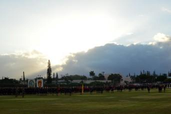 'Bronco' Brigade participates in 25ID Army Birthday Run