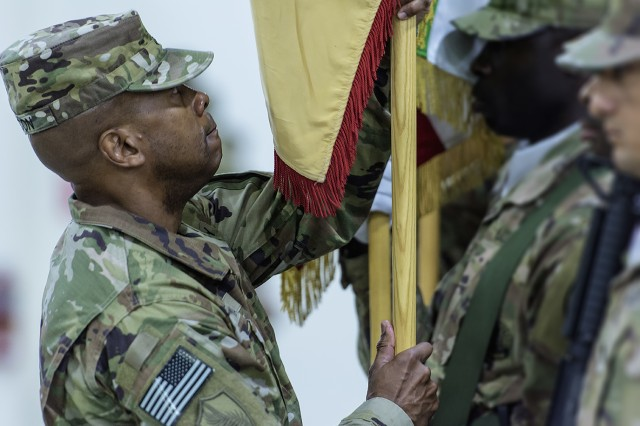 Niemi takes command of 401st Army Field Support Brigade