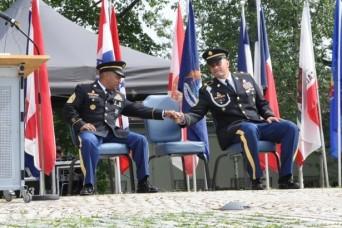 Stuttgart garrison says 'Willkommen Tia, Auf Wiedersehen Alvarez'