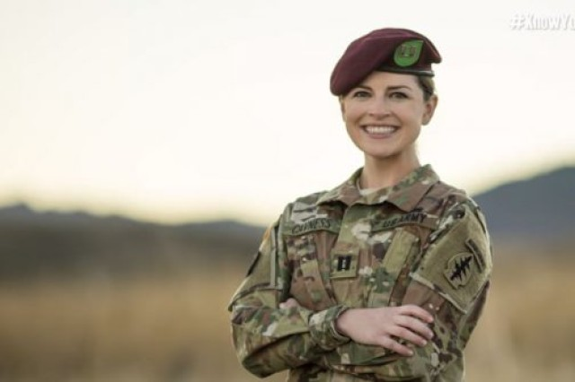 Former Army Capt. Emily Nunez Cavness successfully started her own business as an ROTC cadet.