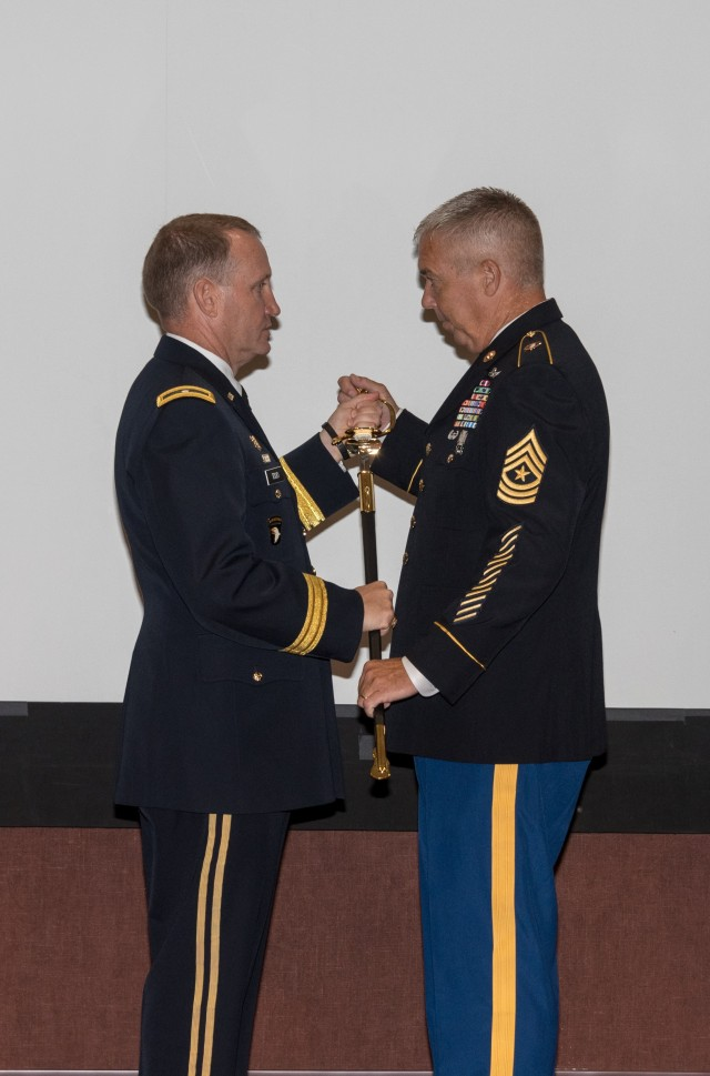 Sullivan becomes PEO Aviation's first every Sgt. Maj.