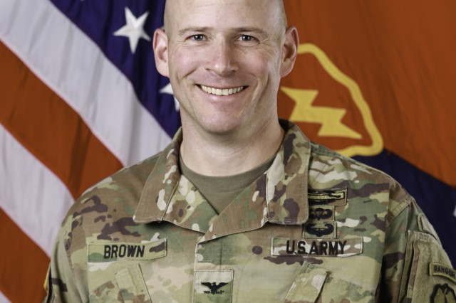 Colonel Matthew W. Brown graduated from the U.S. Military Academy and was commissioned as an Infantry Second Lieutenant in 1997. His past assignments include Assistant S3, Bradley Platoon Leader, Support Platoon Leader, and Battalion S4 in 1st Battalion, 18th Infantry at Camp Able Sentry, Macedonia and Schweinfurt, Germany. He then served as a Division G3 Operations Officer in the 101st Airborne Division at Fort Campbell, Kentucky and in Kuwait and Iraq. Subsequently assigned to 3d Brigade, he commanded C Company, 1st Battalion, 187th Infantry during Operation Iraqi Freedom I and HHC, 1st Battalion, 187th Infantry during Operation Iraqi Freedom IV. Following redeployment, he served as an Exercise Plans and Operations Officer in the Mission Command Training Program at Fort Leavenworth, Kansas.COL Brown then served as the S3 and XO of 3rd Squadron, 2d Cavalry Regiment in Vilseck, Germany and in Kandahar Province, Afghanistan. Upon redeployment, he served as a Deputy Task Force Observer Coach Trainer and the Operations Group S3 at the Joint Multinational Readiness Center and as the U.S. exchange officer to the Headquarters of the German Army. COL Brown then commanded the 1st Battalion, 6th Infantry at Fort Bliss, Texas. Following battalion command, he attended the Joint Advanced Warfighting School and subsequently served as the Senior Advisor to the 205th Afghan National Army Corps in Kandahar, Afghanistan.COL Brown holds a MS in Engineering Management from Missouri Science and Tech and a MS in Joint Campaign Planning and Strategy from the Joint Forces Staff College. His awards include four Bronze Star Medals, six Meritorious Service Medals, and two Army Commendation Medals. He also earned the Ranger Tab, the Airborne Badge, the Air Assault Badge, the Combat Infantryman Badge, and the Expert Infantryman Badge.