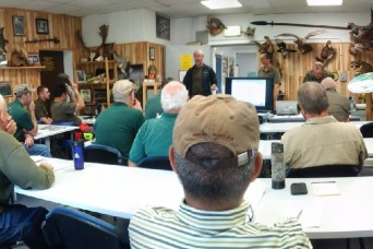 U.S. Forces hunting instructors complete recertification at Grafenwoehr, Baumholder