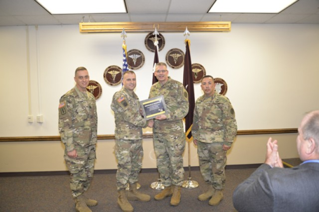 General Leonard Wood Army Community Hospital was recognized for embracing a culture of safety June 21.