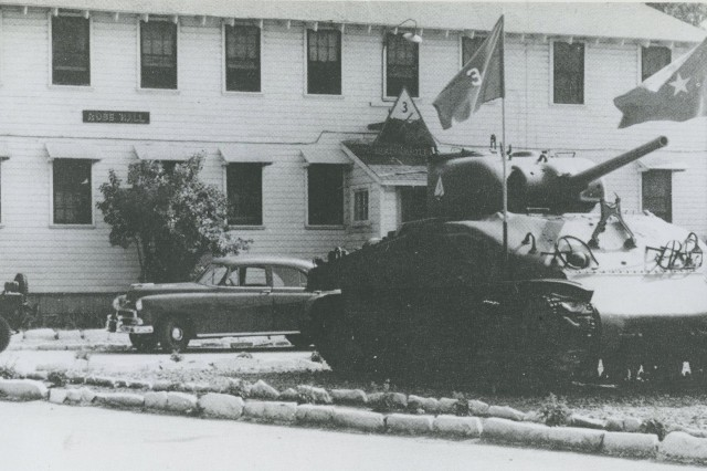 Rose Hall, the Headquarters building for 3rd Armored Division