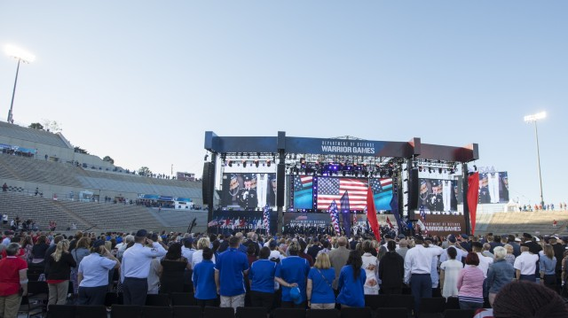 4ID Band performs with Air Force Band during Warrior Games 2018