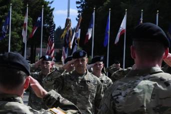 I Corps bids farewell to deputy commanding general