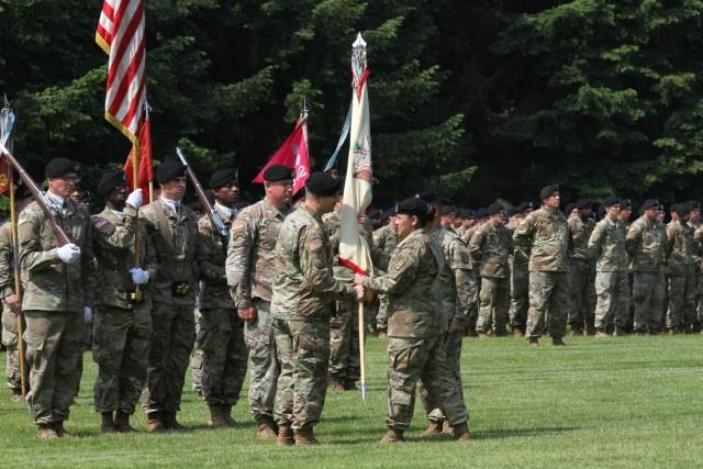 Sustainment Battalion Gets New Commander