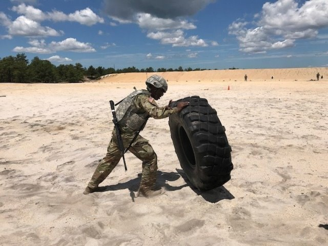 20th CBRNE Command Soldiers compete for best warrior selection