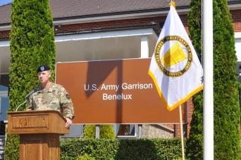 Benelux commander addresses teammates