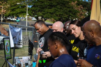 8th TSC TAKES TIME-OUT TO BRING AWARENESS TO PTSD