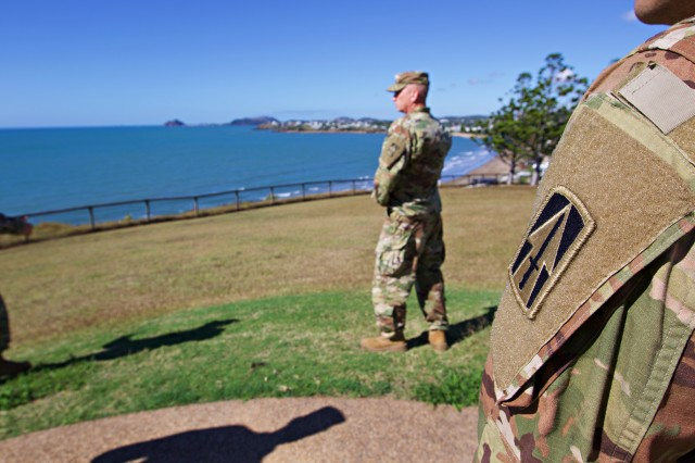 Indiana National Guard Soldiers traveled nearly 9,000 miles to Queensland, Australia, to join the Australian Defense Force during Exercise Hamel, an exercise that integrates U.S. forces like the 76th Infantry Brigade Combat Team into the Australian Battle Group to enhance tactical and sustainment interoperability with allied partners.