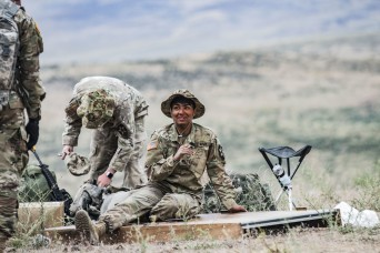 Female Soldier blazes trail as combat engineer