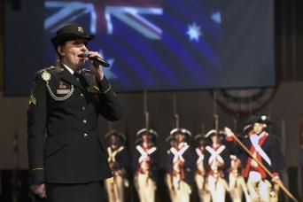 Australia native comes full circle as Army Guard vocalist