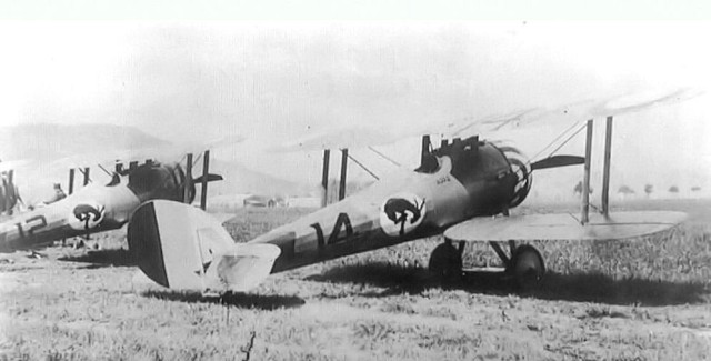 Nieuport 28s of the 95th