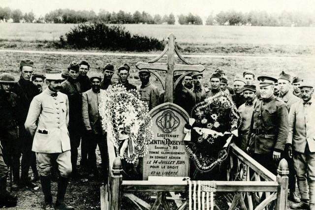 Quentin Roosevelt grave