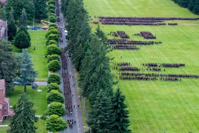 America's First Corps Run