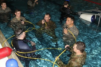 Army's underwater egress training aims to improve survival rates