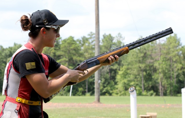 Skeet athlete joins Army
