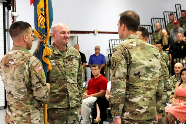 USAMU commander says farewell to Soldiers
