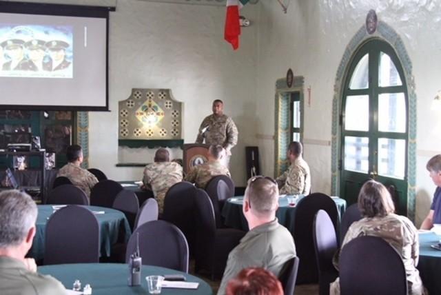 Fort Hunter Liggett hosts Four Chaplains Memorial Prayer Luncheon