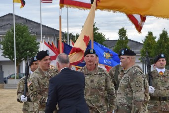 Cloud accepts command of USAG Wiesbaden